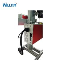 Cabel Wire laser co2 glass tube marking machine laser jet printer machine for pvc pipes Manufactures