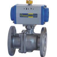 Floating Type Pneumatic Actuator Ball Valve 10 Inch ANSI 600 Flanged End