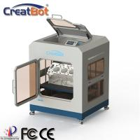 Large Industrial CreatBot 3D Printer Dual Extruders Automatic With Color Touch Screen Manufactures