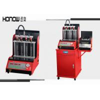 LED Display Fuel Injector Cleaner Tester Machine 4 Cylinders 4L Test Liquid Tank Volume Manufactures