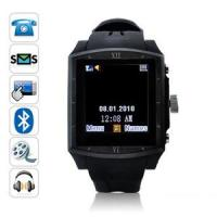 China Quad Band GSM Watch Phone with Bluetooth, Unlocked 1.5Touch Screen MP3 Player (G2) on sale