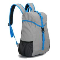 Durable Lightweight Rock Climbing Backpack Blue / Grey For Outdoor Sports Manufactures