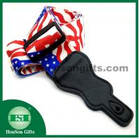 China HSGS006 Whoesale Sublimated Guitar shoudler belts customized polyester custom flag guitar strap wholesale