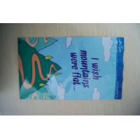 Ldpe Printed Grip Seal Bags Blue With Small Cartoon For Children Toys Manufactures