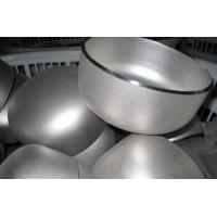Seamless Stainless Steel Round Tube End Caps Beveled  Sand Blast ASME B16.9 Manufactures