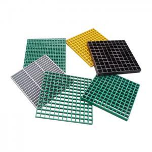 China Fiberglass Reinforced Plastic 25mm ASTM D635 FRP Grating on sale