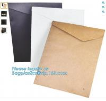 Fashion design gold foil edges light pink art paper wedding invitation cards