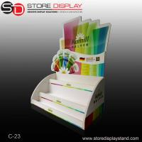 PVC foamboard colorful counter display in three layers Manufactures