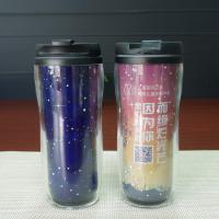 Temperature Sensitive Color Changing Mugs Double Wall Plastic Manufactures