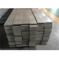 Durable Stainless Steel Profiles Flat / Angle Stainless Steel Bar High Tensile Strength Manufactures