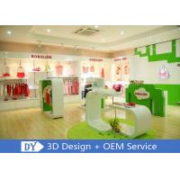 Modern Fashion Kid Clothing Store Interior Design With Custom Size Color Logo Manufactures