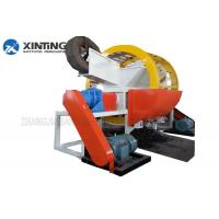 China Waste Tire Double Shaft Shredder High Efficiency on sale
