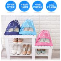 Colorful Canvas Shoe Storage Bags Dust Prevention With OEM / ODM Services Manufactures