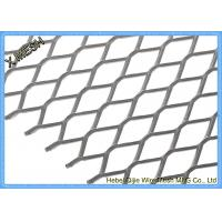 DIN EN ISO 1461 Expanded Metal Mesh , Aluminum Expanded Metal Sheet For Stairs Manufactures