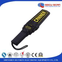 Buy cheap Black Lightweight Hand Held Metal Detector Supper Scanner On / Off Switch from wholesalers