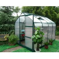 strong frame greenhouse with single sliding door Manufactures