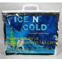 China large aluminum foil material thermal insulate cooler bag,insulated jute cooler bag for delivery food cooler bag aluminiu on sale