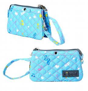 China Fashion Lady Clutch Nylon Long Wallet Women Card Holder Purse Handbag Bag on sale