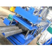 China 2-4mm Galvanized Steel Two wave W Beam Highway Guardrail Roll Forming Equipment PLC Control Automatic on sale