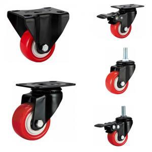 Light duty caster,small PU caster wheel,wringer castor,40mm-50mm castor,ring caster,stem castor,roller Manufactures