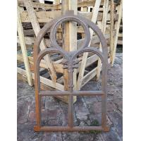 Decorative window frame reclaimed arched cast iron windows antique furniture Manufactures