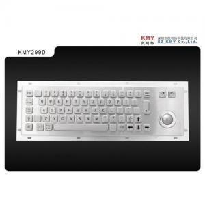 China Metal keyboard with trackball on sale