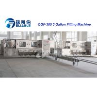 3/5 Gallon Barrel Drinking Water Beverage Filling Line , Automatic Capping Machine Manufactures