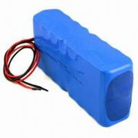 14.8V 10Ah Lithium-ion Battery Pack, Used for Portable Appliances Manufactures
