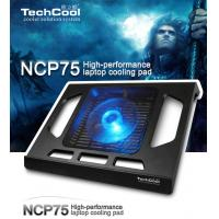 Folding colorful laptop cooling pad USB2.0 notebook cooler with LED light For Notebook Manufactures