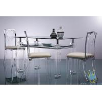 acrylic breakfast bar table and chairs Manufactures