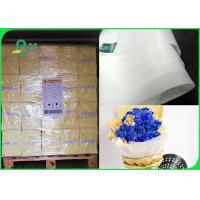 Quality 40gsm Harmless Level 3 6 7 Grease Proof Paper Width 76cm For Fast Food Packing for sale
