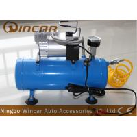 China Waterproof 12V Portable Electric Air Compressor air tank 150psi on sale