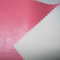 PU Artificial Leather with 1 to 1.2mm Thickness, Ideal for Bags Manufactures