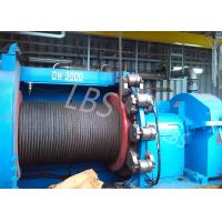 hyraulic and electric Winch Drum for Hoist Equipment Spiral or lebus Grooving type