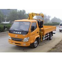 High Capacity 7 Ton Truck Loader Crane For Construction ISO Standard Manufactures