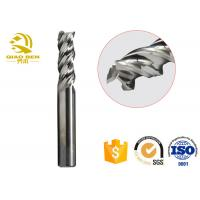 China Carbide Acrylic Cutting Router Bits , CNC Milling Cutters End Mill 1 Flute on sale