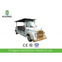 White Color 48V AC Motor Electric Vintage Cars With Intelligent Onboard Charger Manufactures