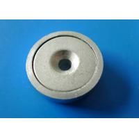 Permanent Magnetic Assemblies , Alnico Shallow Pot Magnet Manufactures
