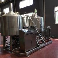 Turnkey Brewery Equipment 3 Vessel Brewhouse SS Brewing Equipment 20Bbl Manufactures