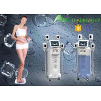 Vertical Cryolipolysis cool fat removal machine with 4 handles Manufactures