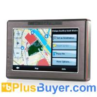"""Portable 4.3"""" Touchscreen GPS Navigator + Multimedia System Manufactures"""