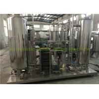 China Industrial CO2 Gas Carbonated Drink Automatic Drink Mixing Machine With 3000L Three Tanks on sale