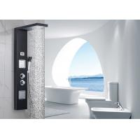 ROVATE 304 Stainless Steel Wall Mount Shower Panel With Body Shower Jets Manufactures