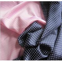 Quality Lean Textile spadex stretch satin fabric dot printed for sale