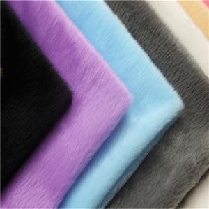 100% polyester plush fabric velboa fabric india knitted short pile plush fabric