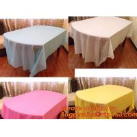 Colorful Plastic Tablecloth Wedding Decoration Supplies Party Table Cover 10 colors to choose, Waterproof Table Cover Pa Manufactures