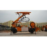 KC3017 Concrete Pumping Equipment , Shotcrete Machine With Robot Arm 0-18 Km/H Travelling Speed Manufactures