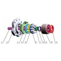 K3V140 K3VL140 Kawasaki Hydraulic Pump Parts With Ball Guide Iron , Shoe Plate Manufactures