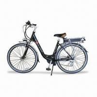 Electric Bike with Alloy Aluminum Frame and 250W Motor Power Manufactures