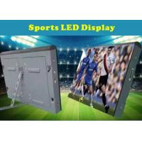 Great waterproof P16 Outdoor Full Color LED Screen For Football Advertising Boards Manufactures